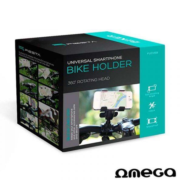 soporte universal de bicicleta omega para smartphone 1
