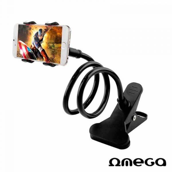 soporte universal para movil brazo largo extensible omega 2