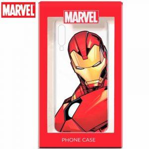 carcasa huawei p30 licencia marvel iron man