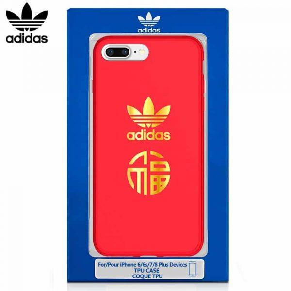 Carcasa iPhone 6 Plus / 6s Plus Licencia Adidas Rojo 1