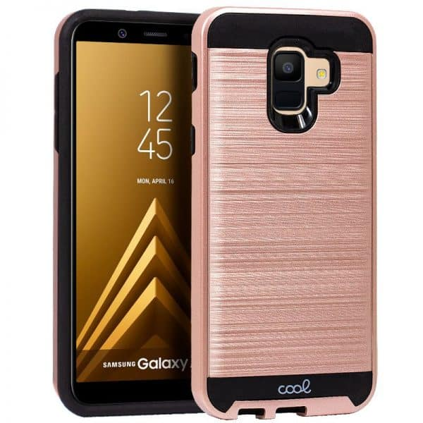 Carcasa Samsung A600 Galaxy A6 Aluminio Rosa 1