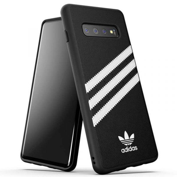 Carcasa Samsung G975 Galaxy S10 Plus Licencia Adidas Negro 2