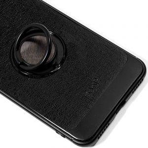 Carcasa Xiaomi Mi A2 Lite / 6 Pro Leather Piel Negro 3