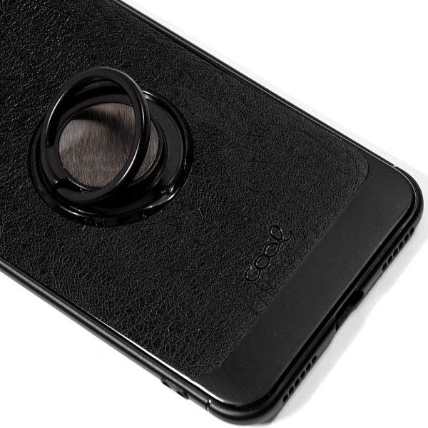 Carcasa Xiaomi Mi A2 Lite / 6 Pro Leather Piel Negro 2