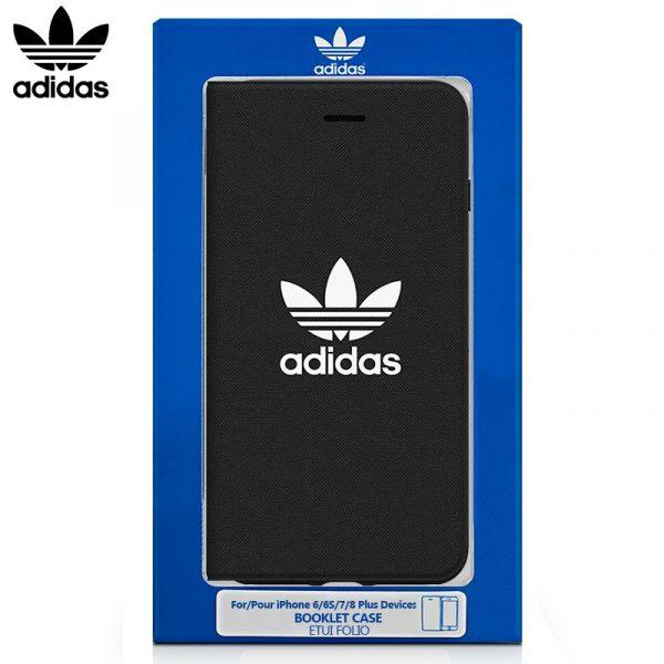 Funda Flip Cover iPhone 6 Plus / 6s Plus Licencia Adidas Negro 1