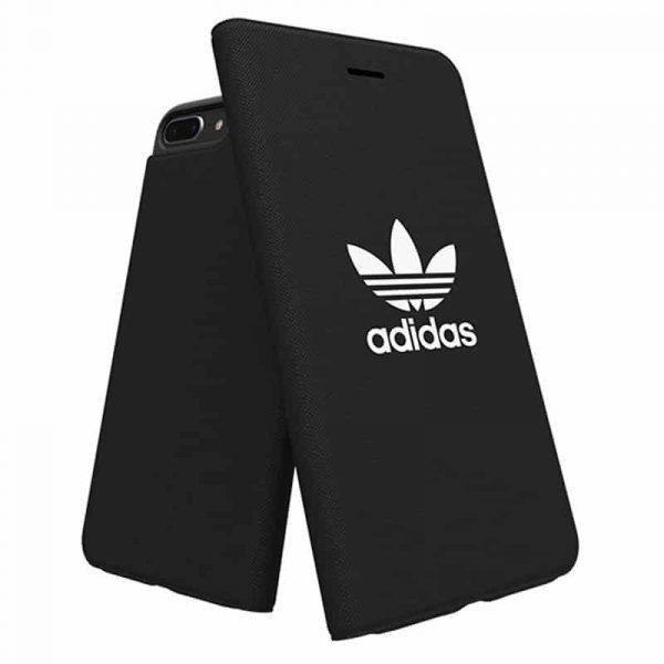 Funda Flip Cover iPhone 6 Plus / 6s Plus Licencia Adidas Negro 4