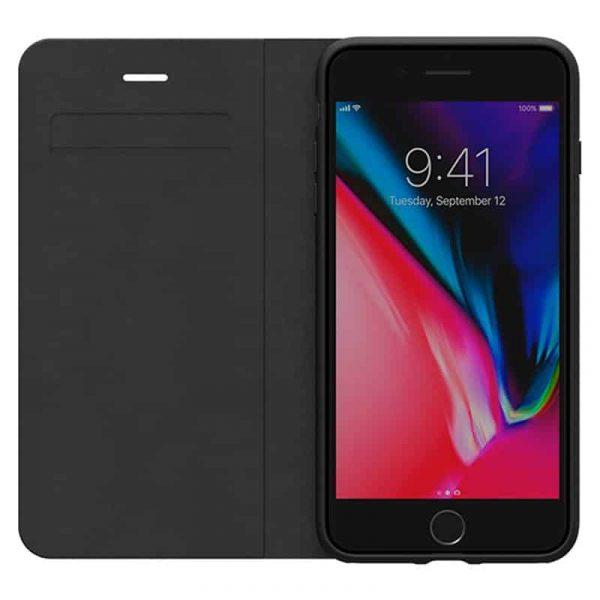 Funda Flip Cover iPhone 6 Plus / 6s Plus Licencia Adidas Negro 2