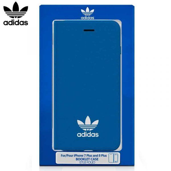 funda flip cover iphone 7 plus iphone 8 plus licencia adidas azul