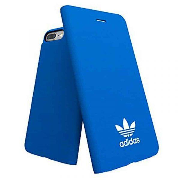 funda flip cover iphone 7 plus iphone 8 plus licencia adidas azul2