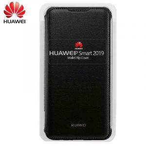 Funda Original Huawei P Smart (2019) / Honor 10 Lite Flip Cover Negro (Con Blister) 5