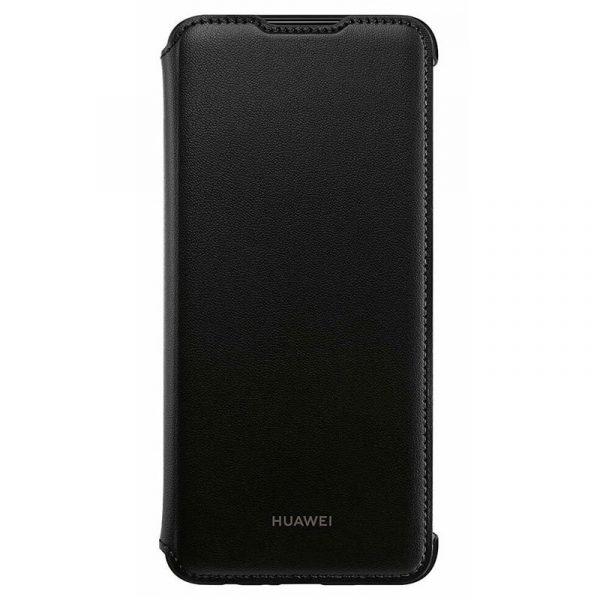 Funda Original Huawei P Smart (2019) / Honor 10 Lite Flip Cover Negro (Con Blister) 1