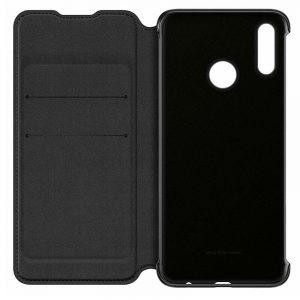 Funda Original Huawei P Smart (2019) / Honor 10 Lite Flip Cover Negro (Con Blister) 4