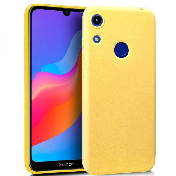 funda silicona huawei y6 2019 honor 8a amarillo