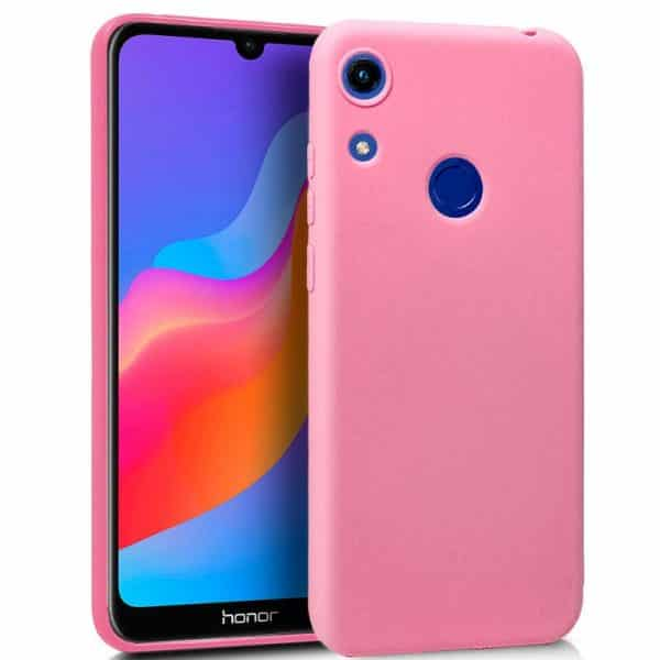 Funda Silicona Huawei Y6 (2019) / Honor 8A (Rosa) 1
