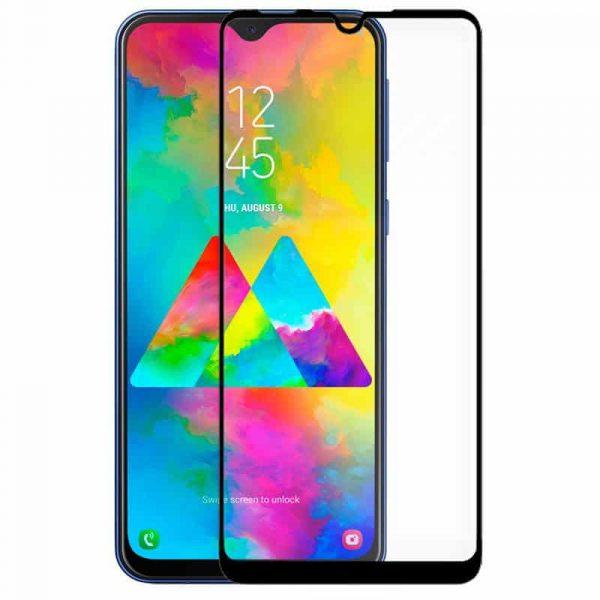 protector pantalla cristal templado samsung m205 galaxy m20 full 3d negro