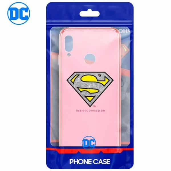 Carcasa Huawei P20 Lite Licencia DC Glitter Superman 2