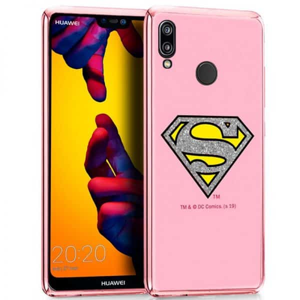 Carcasa Huawei P20 Lite Licencia DC Glitter Superman 1