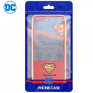 carcasa iphone 7 iphone 8 licencia dc borde superman