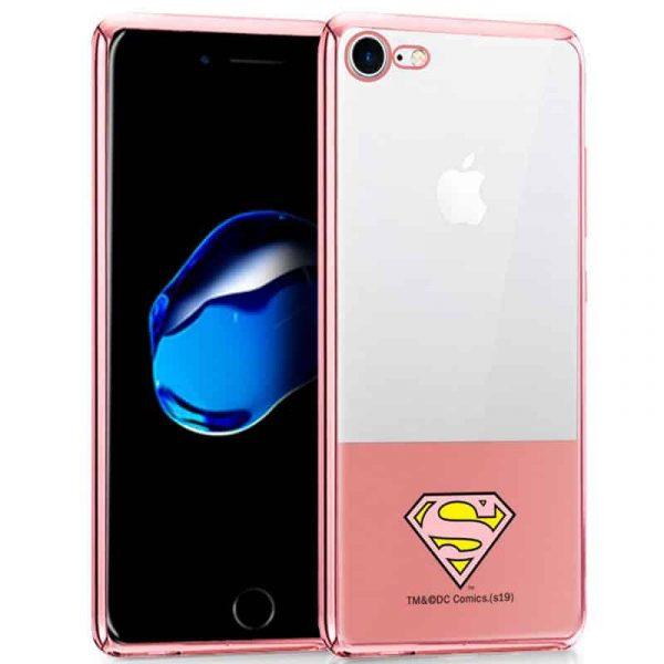 carcasa iphone 7 iphone 8 licencia dc borde superman2