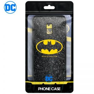 Carcasa Samsung A600 Galaxy A6 Licencia DC Glitter Batman 3