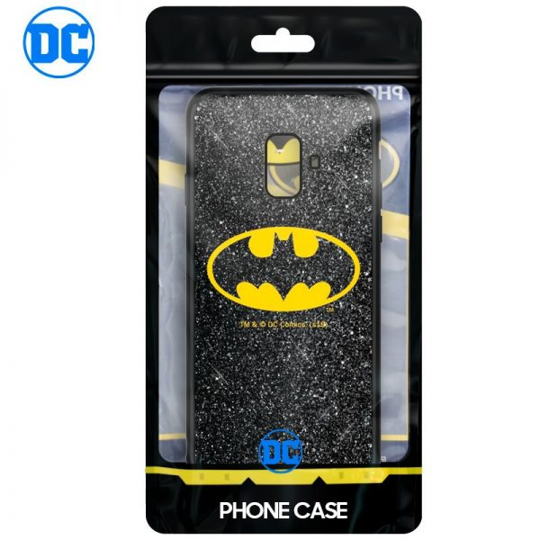 Carcasa Samsung A600 Galaxy A6 Licencia DC Glitter Batman 2