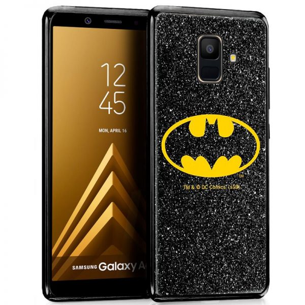 Carcasa Samsung A600 Galaxy A6 Licencia DC Glitter Batman 1