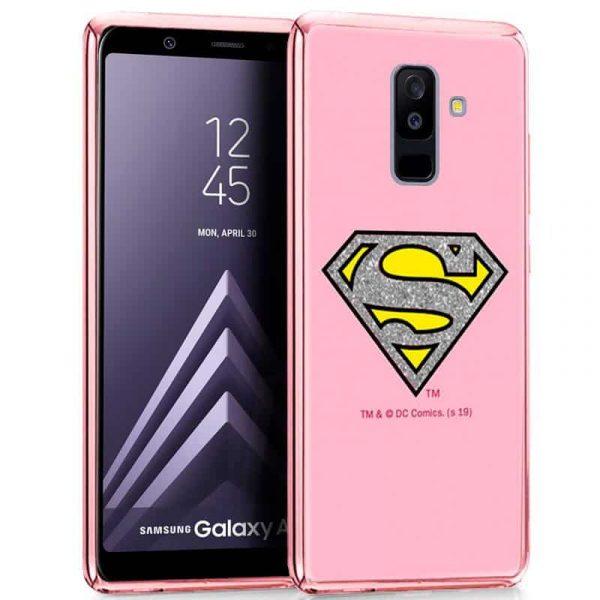 Carcasa Samsung A605 Galaxy A6 Plus Licencia DC Glitter Superman 1