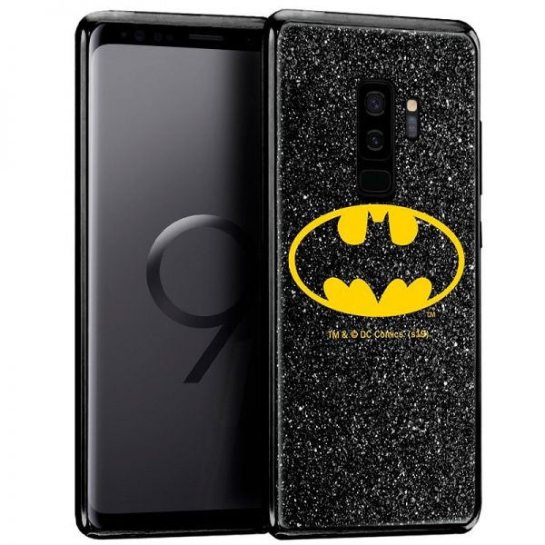 carcasa samsung g965 galaxy s9 plus licencia dc glitter batman2
