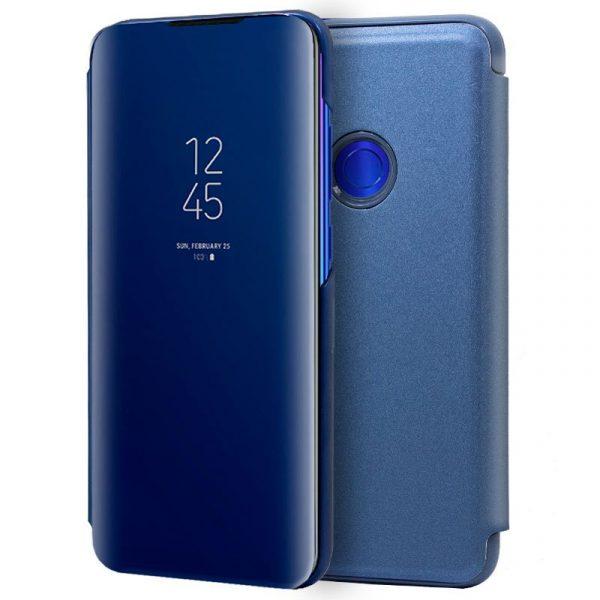 Funda Flip Cover Xiaomi Redmi 7 Clear View Azul 1