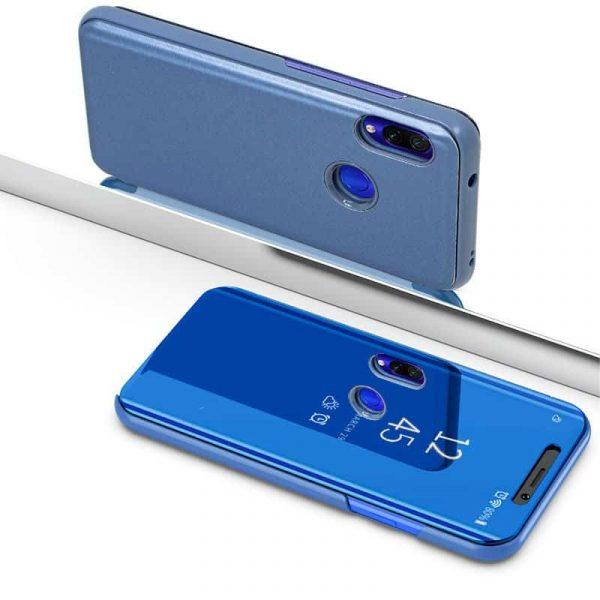 Funda Flip Cover Xiaomi Redmi 7 Clear View Azul 3