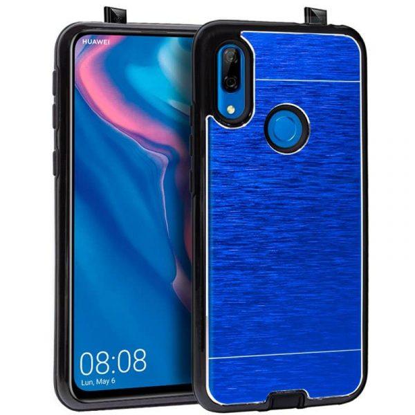 carcasa huawei p smart z aluminio azul