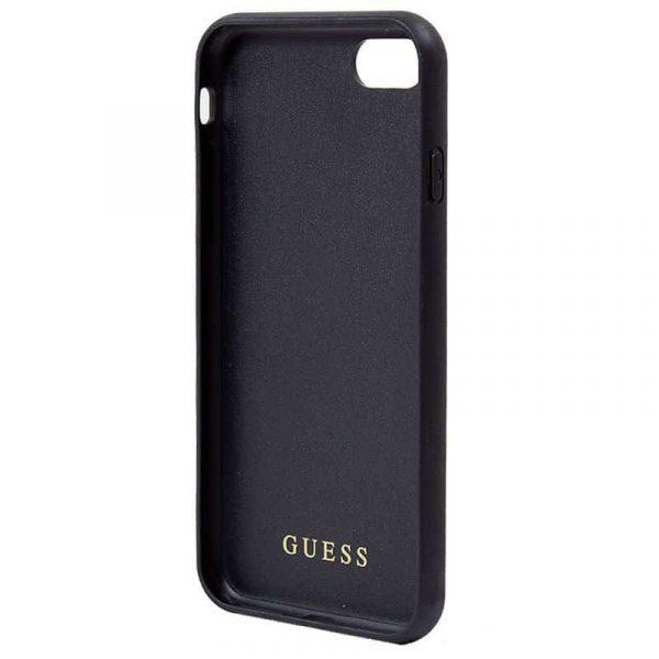 Carcasa iPhone 7 / iPhone 8 / SE 2020 Licencia Guess Logo Dorado 3