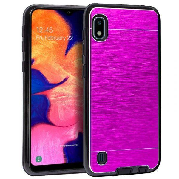 Carcasa Samsung Galaxy A10 Aluminio (Rosa) 1