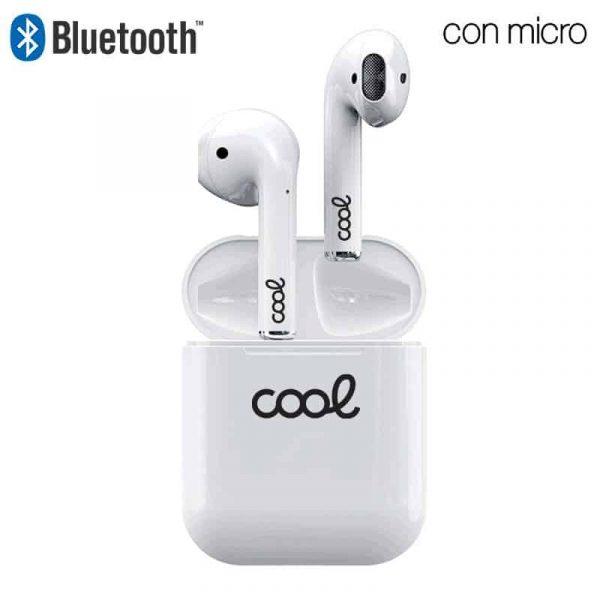 auriculares stereo bluetooth dual pod cool air v2 premium powerbank blanco1