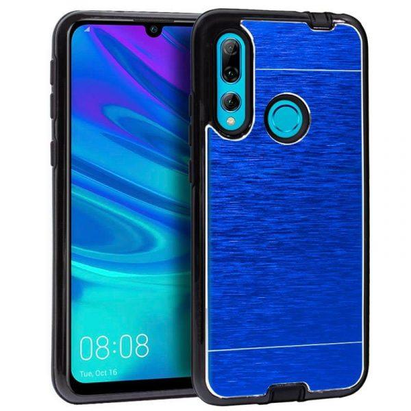 Carcasa Huawei P Smart Plus 2019 Aluminio Azul 1