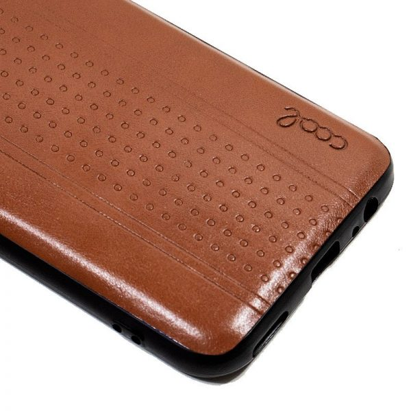 carcasa huawei p smart z leather piel marron2