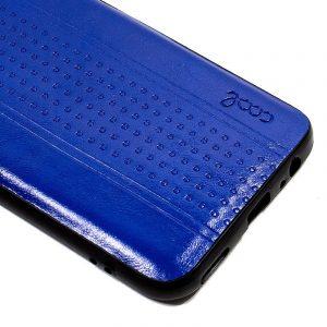 carcasa huawei p30 lite leather piel azul2