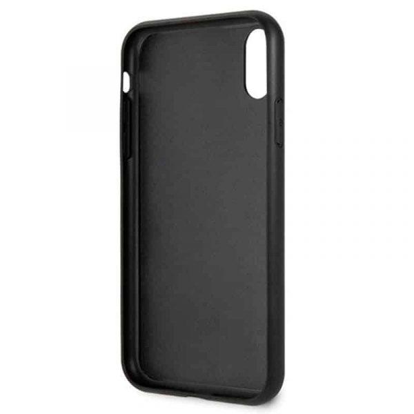carcasa iphone xr licencia guess marmol negro3