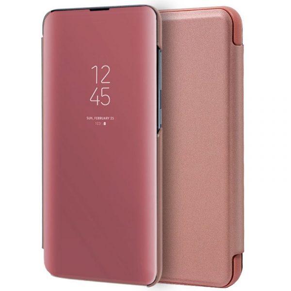 Funda Con Tapa Xiaomi Redmi 7A Clear View Rosa 1