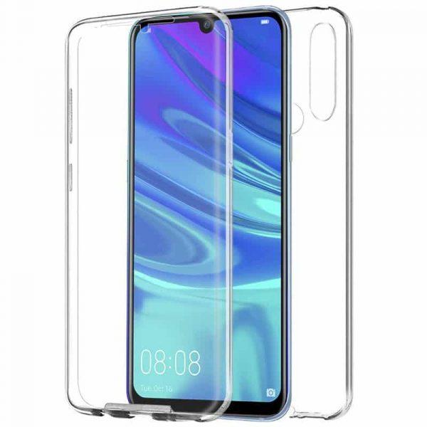 funda silicona 3d huawei p smart plus 2019 transparente frontal trasera