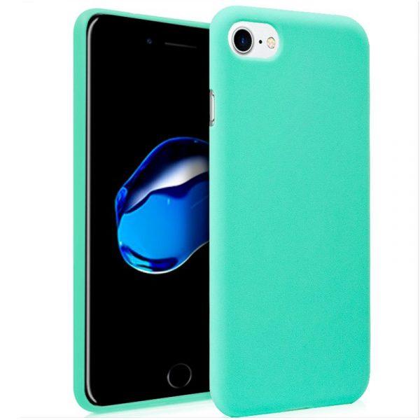Funda Silicona iPhone 7 / iPhone 8 / SE 2020 (Mint) 1