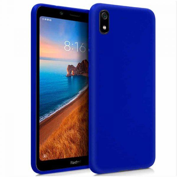 funda silicona xiaomi redmi 7a azul1