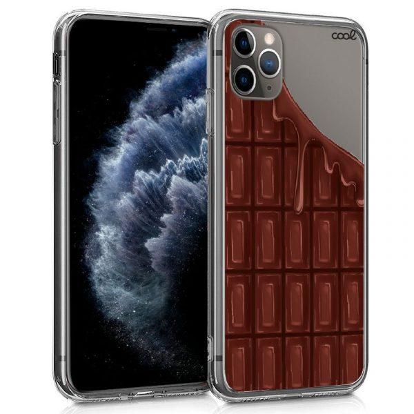 carcasa iphone 11 pro clear chocolate1
