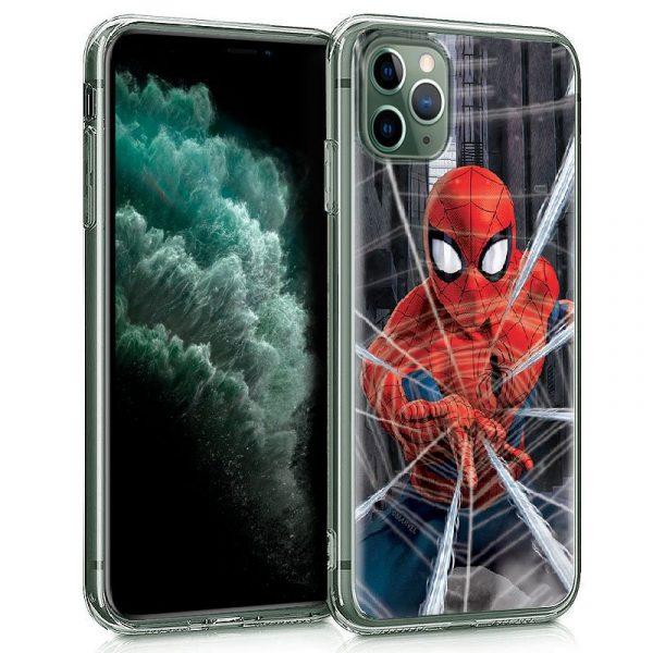 carcasa iphone 11 pro licencia marvel spider man1