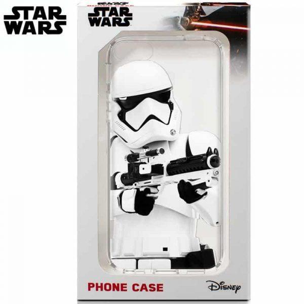 carcasa iphone 6 plus licencia star wars stormtrooper2