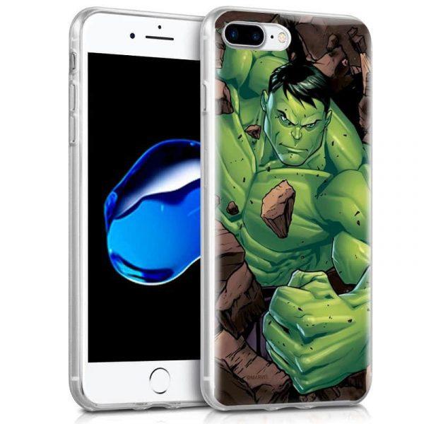 Carcasa iPhone 7 Plus / 8 Plus Licencia Marvel Hulk 1
