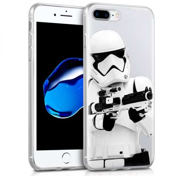 carcasa iphone 7 plus 8 plus licencia star wars stormtrooper1