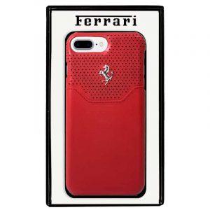 carcasa iphone 7 plus iphone 8 plus licencia ferrari rojo1