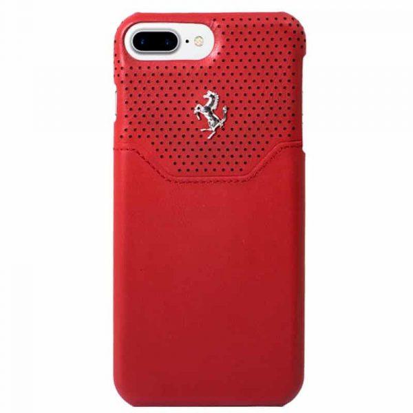 carcasa iphone 7 plus iphone 8 plus licencia ferrari rojo3