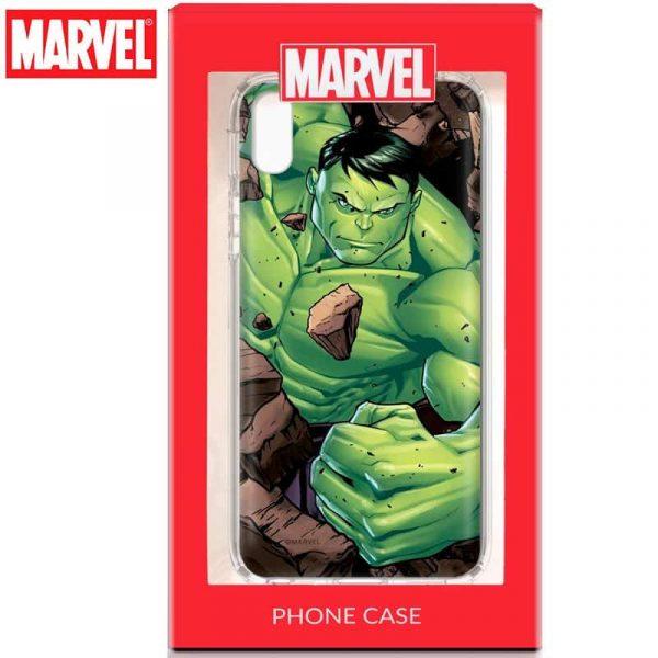 carcasa iphone xr licencia marvel hulk2